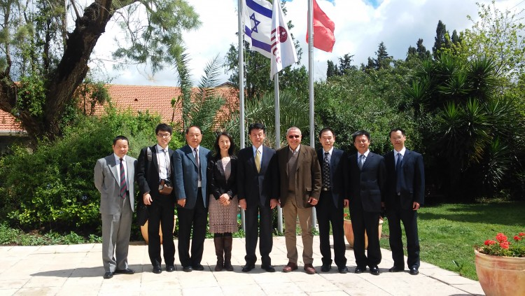 Agreement signed between the Chinese Government and Galilee International Management Institute