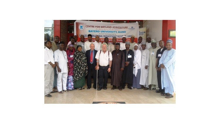 GIMI delivers an In-Country Project Management Training Programme - Centre for Dryland Agriculture, Bayero University, Kano - Nigeria