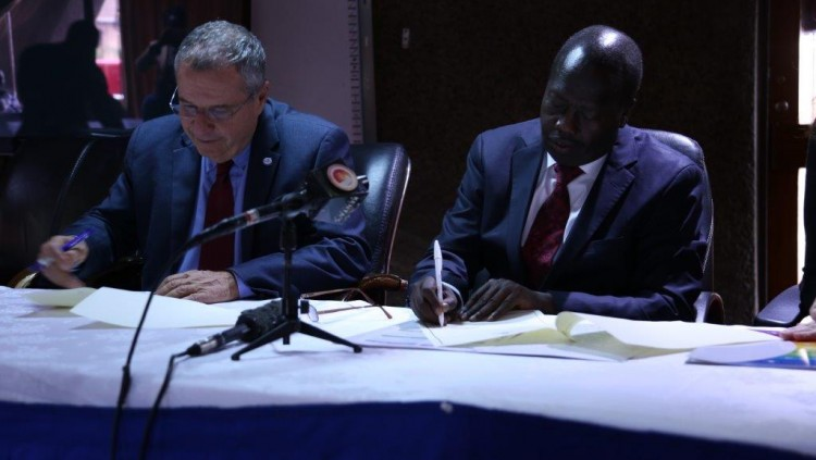 GIMI signs an MOU with the Kenyan Council of Governors