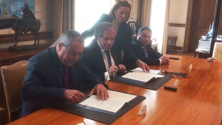 New Agreement of Cooperation signed in Washington DC between OAS and GIMI