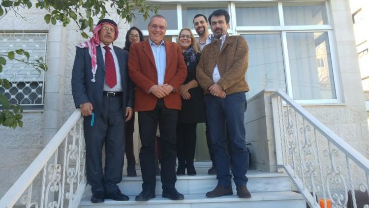 Le Galilee Institute en visite en Jordanie afin d'établir une coopération