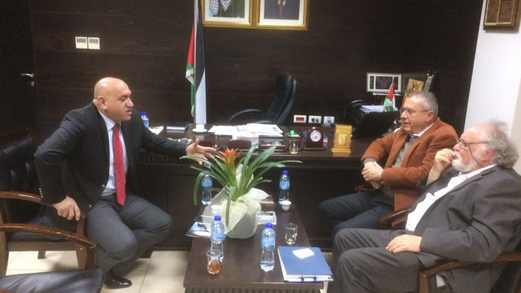 Cooperation with Palestinian Organisations
