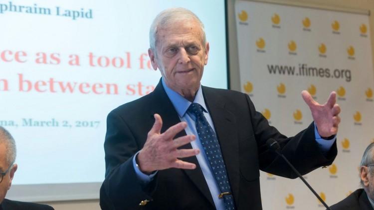Dr. Ephraim Lapid Lectured in Ljubljana, Slovenia