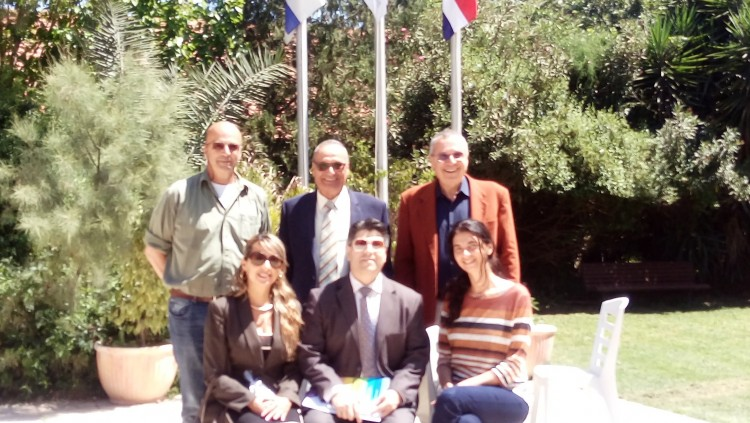 Ambassador of Costa Rica to Israel visited GIMI
