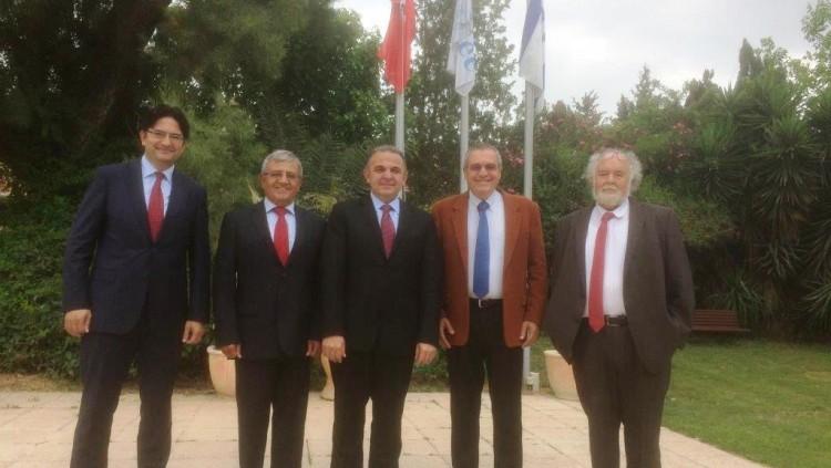 New Turkish Ambassador and Deputy Visit GIMI