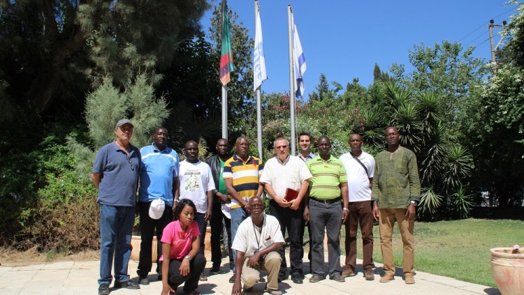 Visit of Zambia National Services