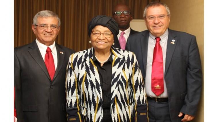 President of Liberia, HE Ellen Johnson Sirleaf, Nobel Laureate, visits Israel